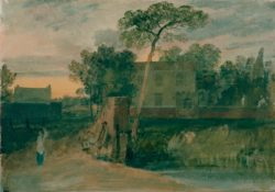 "William Turner ""Syon-Fährhaus"" 26 x 37 cm"