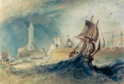 "William Turner ""Ramsgate"" 16 x 23 cm"
