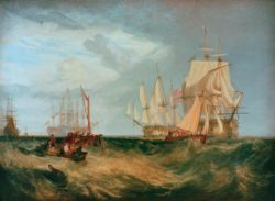 "William Turner ""Spithead, Die Crew lichtet Anker"" 171 x 234 cm"