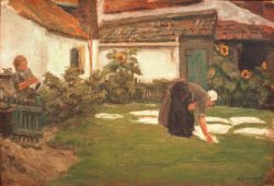 "Max Liebermann ""Die Bleiche"" 62 x 43 cm"