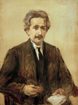 """Max Liebermann """"Bildnis Prof. Albert Einstein"""" 75 x 100 cm"""
