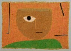 """Paul Klee """"Das Auge"""" 65 x 46 cm"""