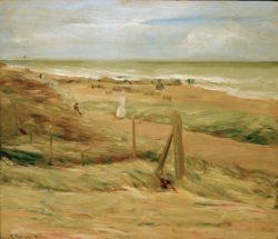 """Max Liebermann """"Dünenpromenade"""" 74 x 63 cm"""