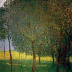 """Gustav Klimt """"Obstbäume am Attersee"""" 90 x 90 cm"""