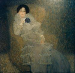 """Gustav Klimt """"Marie Henneberg"""" 140 x 140 cm"""