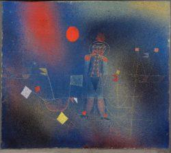 "Paul Klee ""Abenteurer zur See"" 32 x 35 cm"