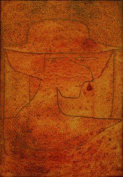"""Paul Klee """"Altes Mädchen"""" 41 x 60 cm"""