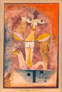 """Paul Klee """"Barbaren Venus"""" 27 x 41 cm"""