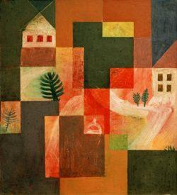 """Paul Klee """"Choral und Landschaft"""" 31 x 35 cm"""