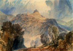 "William Turner ""Launceston, Cornwall"" 28 x 38 cm"
