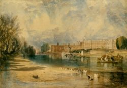 "William Turner ""Hampton Court Palace"" 29 x 41 cm"