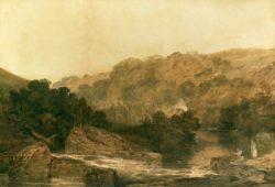 "William Turner ""Brinkburn Priory"" 64 x 93 cm"