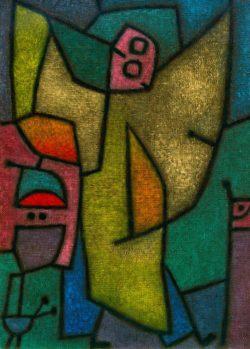 "Paul Klee ""Angelus Militans"" 51 x 71 cm"