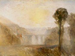 "William Turner ""Brücke und Turm"" 92 x 122 cm"