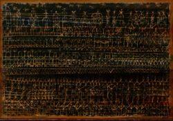 """Paul Klee """"Burg der Gläubigen"""" 33 x 23 cm"""