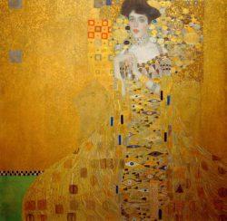 """Gustav Klimt """"Bildnis Adele Bloch-Bauer I"""" 138 x 138 cm"""
