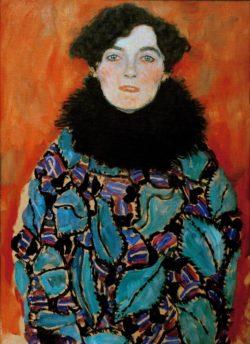 "Gustav Klimt ""Bildnis Johanna Staude"" 50 x 70 cm"
