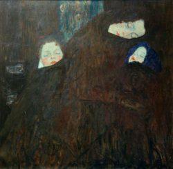 """Gustav Klimt """"Mutter mit Kindern"""" 90 x 90 cm"""