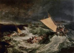 "William Turner ""Der Schiffbruch"" 171 x 242 cm"