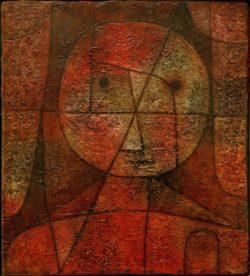 """Paul Klee """"Gezeichneter"""" 28 x 31 cm"""