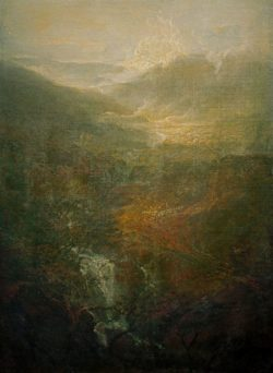 "William Turner ""Morgen inmitten der Coniston Fells, Cumberland"" 123 x 90 cm"