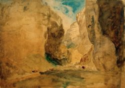 "William Turner ""Gordale Scar"" 55 x 77 cm"