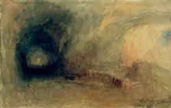 "William Turner ""Ein Bergpass"" 31 x 49 cm"