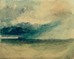 "William Turner ""Klippen vom Meer aus"" 25 x 30 cm"