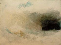 """William Turner """"Longships-Leuchtturm, Land's End, von Nordosten aus"""" 43 x 58 cm"""