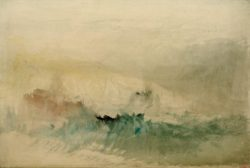 "William Turner ""Stürmische See"" 37 x 56 cm"