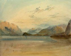 "William Turner ""Comer See"" 23 x 29 cm"