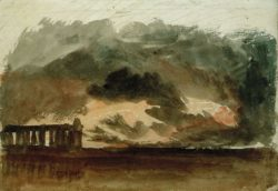 "William Turner ""Paestum im Gewitter"" 21 x 31 cm"