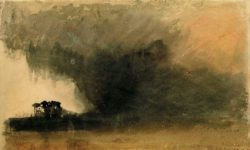 """William Turner """"Der Strand von Duddon"""" 28 x 45 cm"""