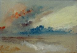 "William Turner ""Wolkenstudie"" 19 x 28 cm"
