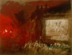 "William Turner ""Feuerstudie"" 23 x 29 cm"