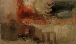 "William Turner ""Der Brand von Rom"" 22 x 37 cm"