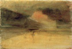 """William Turner """"Mont Saint Michel"""" 19 x 27 cm"""