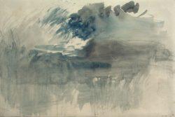 """William Turner """"Sturm über dem Rigi"""" 25 x 37 cm"""