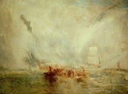 "William Turner ""Walfänger"" 91 x 122 cm"
