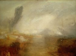 "William Turner ""Die Themse oberhalb der Waterloo Bridge"" 91 x 121 cm"