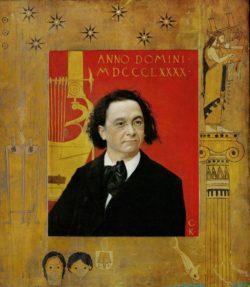 """Gustav Klimt """"Porträt"""" 55 x 69 cm"""