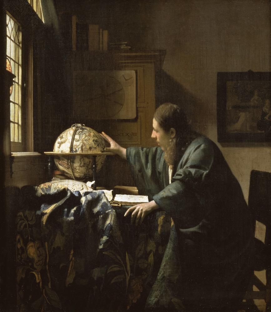 """Jan Vermeer """"Der Astronom"""" 46 x 52 cm"""