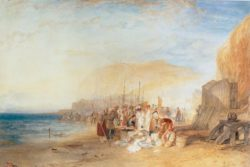 "William Turner ""Fischmarkt in Hastings"" 45 x 66 cm"