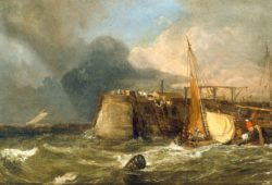 "William Turner ""Alte Mole von Margate"" 28 x 41 cm"