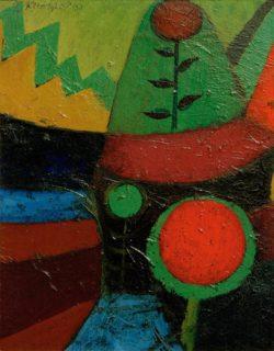 """Paul Klee """"Drei Blumen"""" 15 x 20 cm"""