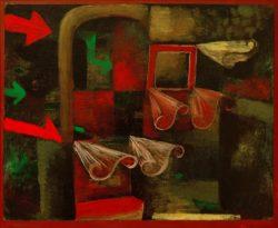 """Paul Klee """"Feuerwind"""" 46 x 38 cm"""