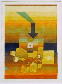 "Paul Klee ""Betroffener Ort"" 23 x 31 cm"