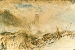 "William Turner ""Leuchtturm von Eddystone"" 21 x 31 cm"