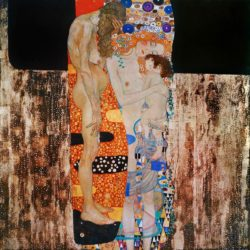 """Gustav Klimt """"Die drei Lebensalter"""" 171 x 173 cm"""