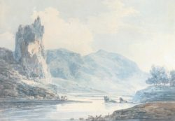 "William Turner ""Dove, Ilam Rock"" 20 x 28 cm"